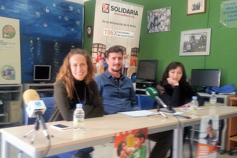 "Rueda de prensa ""X Solidaria"" Melilla"