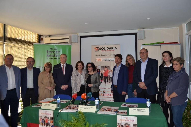 """Rueda de prensa """"X Solidaria"""" Sevilla"""