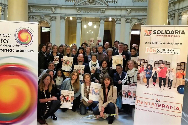"""Rueda de prensa """"X Solidaria"""" Asturias"""