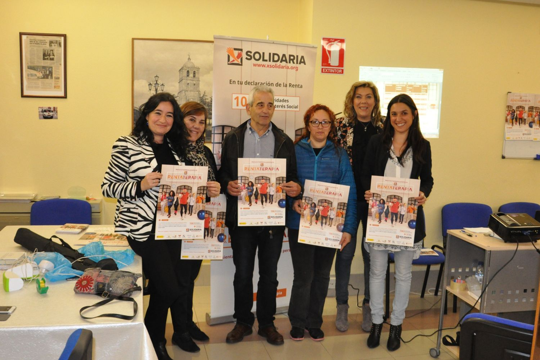 "Rueda de prensa ""X Solidaria"" Aguilar de Campo (Palencia)"