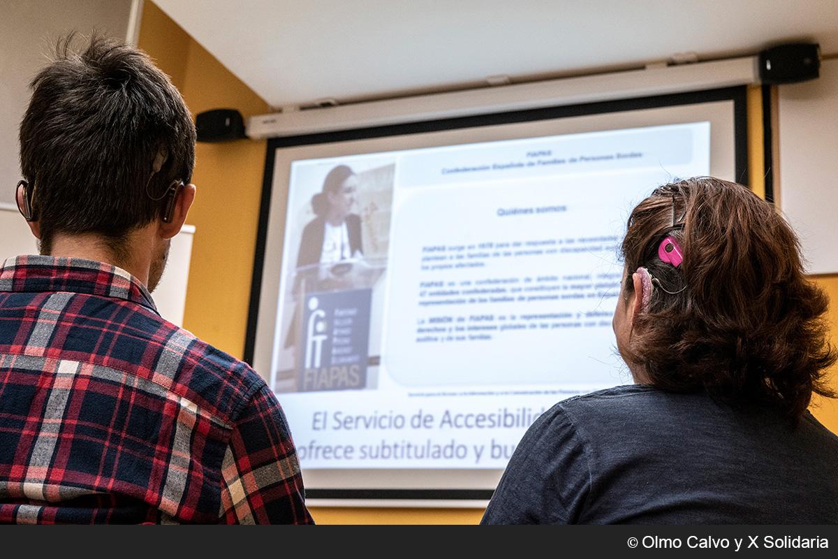 Programa servicio para el acceso a la información y a la comunicación de las personas sordas